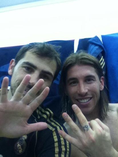 Iker y Ramos