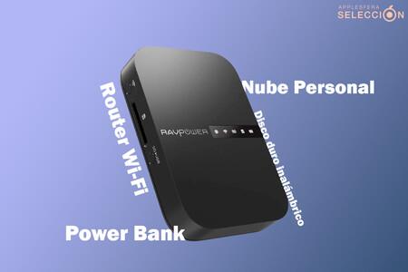RAVPower FileHub, la navaja suiza tecnológica: router Wi-Fi, disco duro inalámbrico y batería 6.700 mAh por 30,69 euros en Amazon