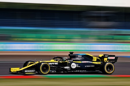 Ricciardo Silverstone F1 2020