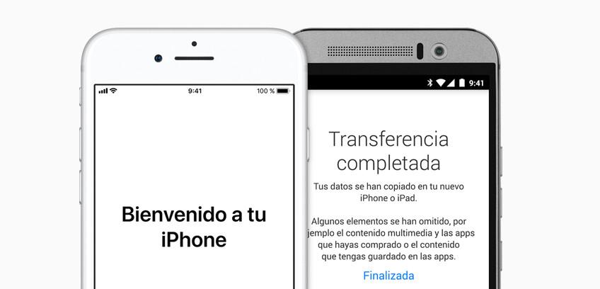 1738f6fc71b Cómo pasar datos y contactos de Android a iPhone