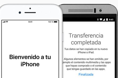 ¿Nuevo iPhone? Así puedes pasar todos los datos y contactos de tu viejo Android