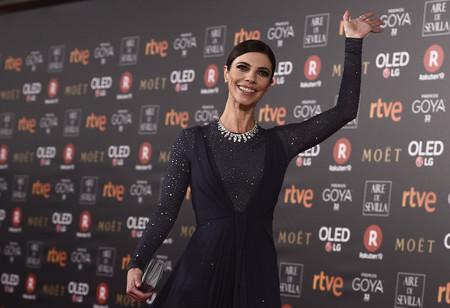 Premios Goya 2018: Maribel Verdú siempre demuestra elegancia, aunque su Christian Dior no es el más acertado