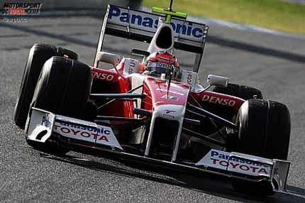 Timo Glock, el más rápido por delante de Massa y Alonso