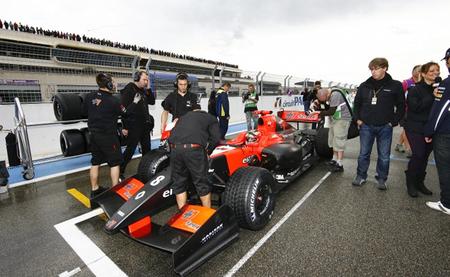 Jules Bianchi parrilla Paul Ricard 2012