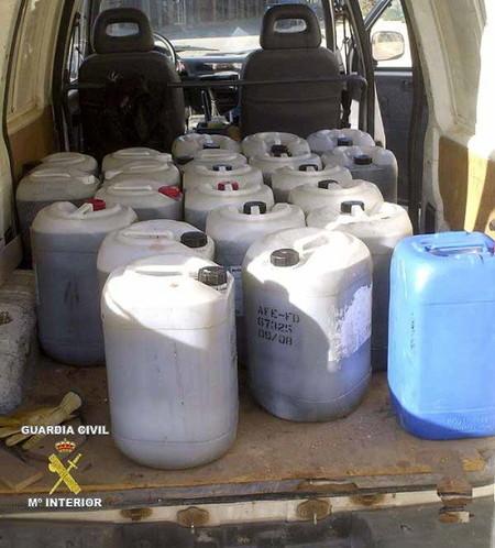 Posible venta de aceite contaminado en La Rioja
