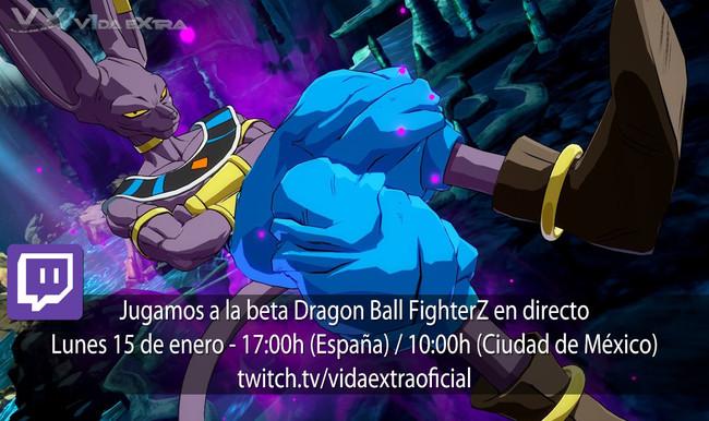 Streaming de la beta de Dragon Ball FighterZ a las 17:00h (las 10:00h en Ciudad de México) [finalizado]