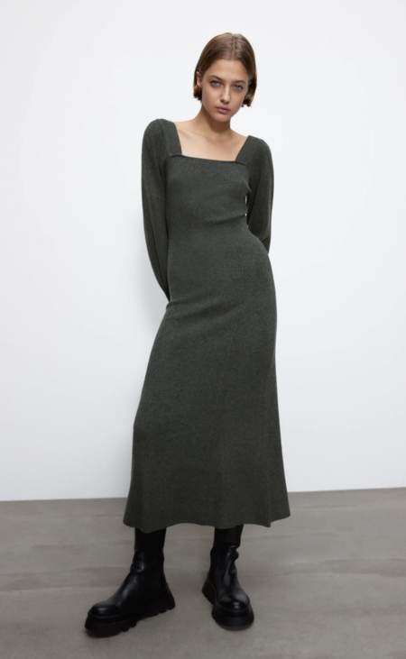 Vestido Punto Zara6
