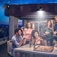 Esta es la lámpara más vendida de Amazon: funciona con energía solar y cuesta menos de 27 euros