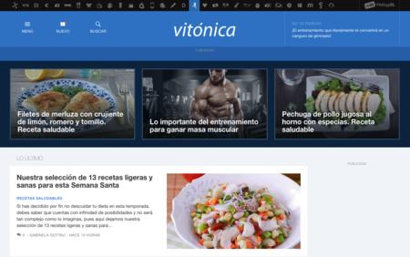 Vitónica estrena nuevo diseño con las top stories como protagonistas