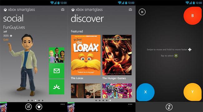 Xbox SmartGlass para Android