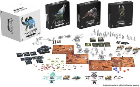 Horizon Zero Dawn The Board Game