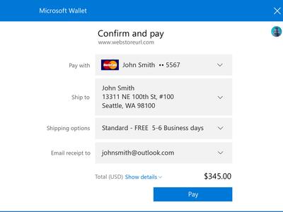 Con Microsoft Edge será más fácil y seguro realizar pagos pero tendremos que esperar a la Creators Update