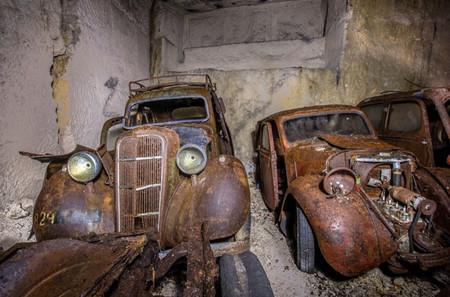 La mina del tesoro: llena de coches clásicos desde la II Guerra Mundial