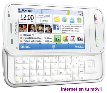 Comparativa Tarifas Internet Móvil para navegar desde el teléfono