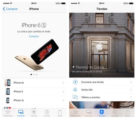 La app oficial de las Apple Store, a punto de recibir un rediseño