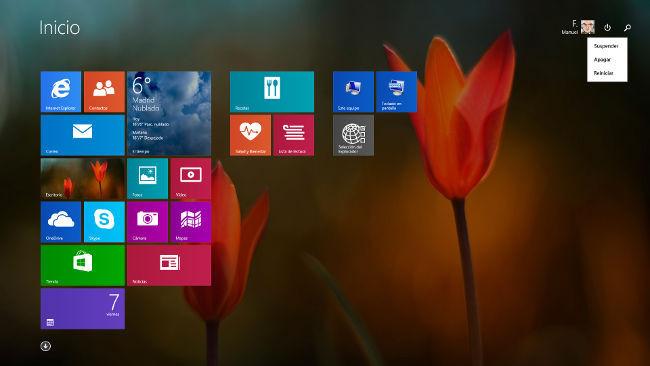 Windows 8.1 Update 1 funcionando