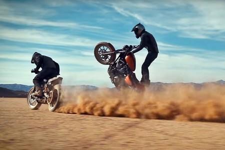 Un duelo salvaje en el desierto: Harley-Davidson Sportster 1200 contra Indian Scout Sixty