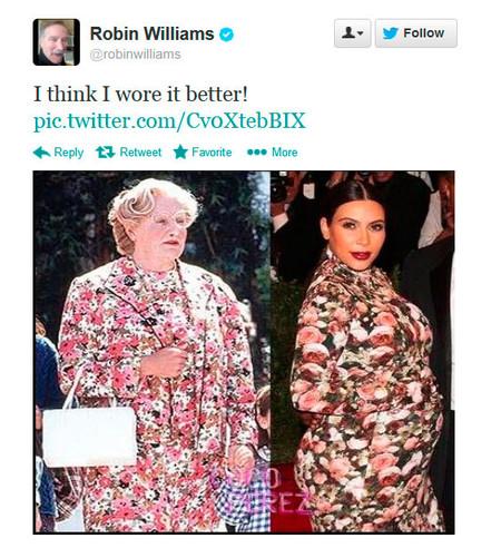 Cuestión de estilo: Kim Kardashian Vs. la señora Doubtfire