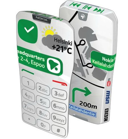 Nokia GEM, un teléfono 100% táctil (por donde lo veas)