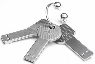 Las llaves USB de Lacie ahora funcionan como llaves para el ordenador