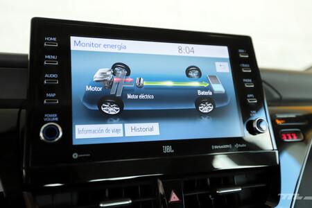Toyota Camry Hybrid 2021 Prueba De Manejo Opiniones 90