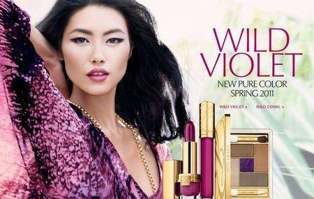 La apuesta de maquillaje de Estée Lauder para la primavera 2011: Wild Violet