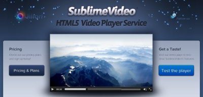 SublimeVideo ya está disponible para todo el mundo