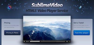SublimeVideo ya está disponible para todo el mundo