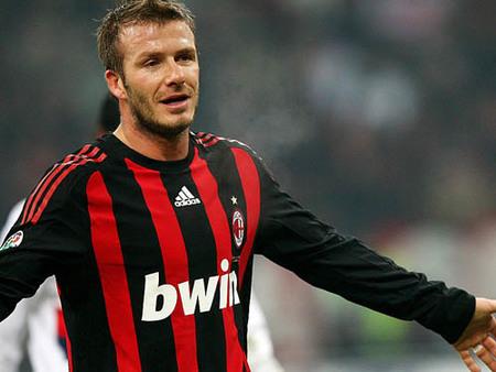 David Beckham vuelve a Milán