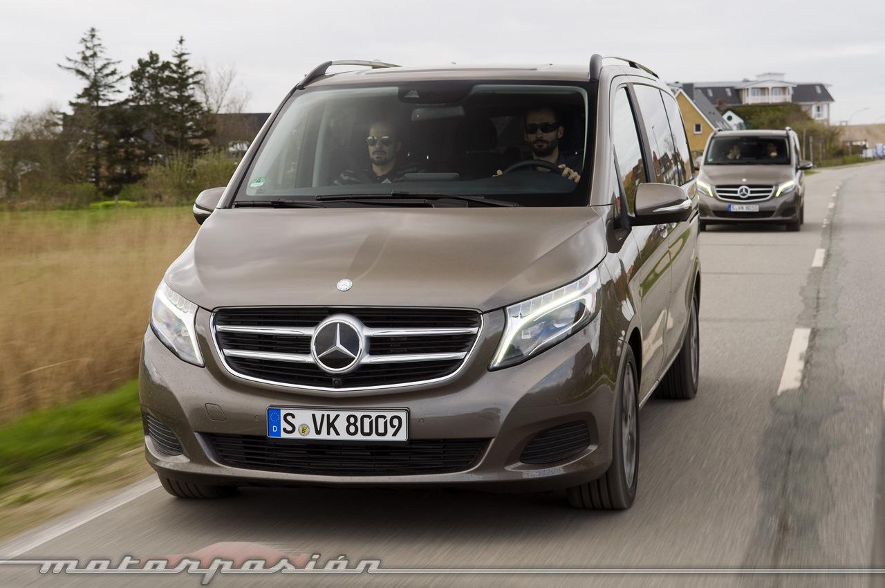 Foto de Mercedes-Benz Clase V (toma de contacto) (22/44)
