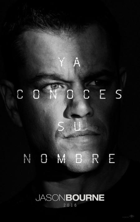 Cartel español de Jason Bourne