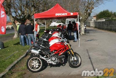Ducati Tour, Moto22 estuvo allí (parte 1)