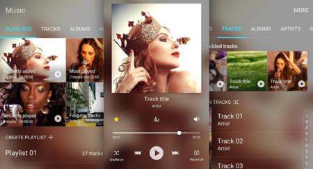 El precioso nuevo reproductor de música de Samsung llega a más modelos
