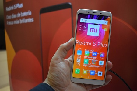 Redmi 5 Plus Telcel Mexico