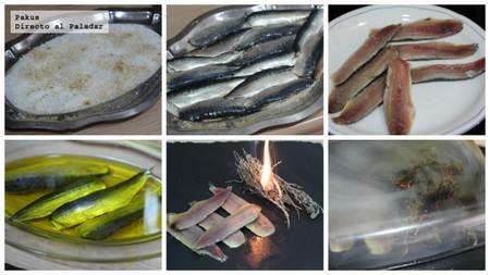 cómo ahumar sardinas