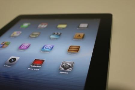 la ventana nuevo iPad