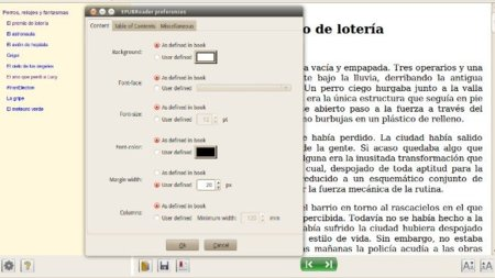 EPUBReader, lee libros en formato ePub desde Firefox