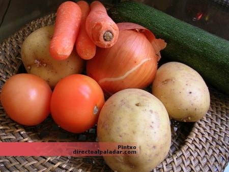 Cómo preparar y cortar las hortalizas y verduras