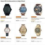 Hasta 50% de descuento en relojes Diesel hasta medianoche sólo hoy en Amazon