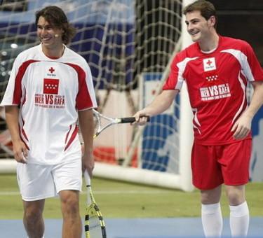 Los amigos de Casillas vs. los amigos de Nadal