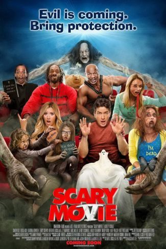 El cartel de Scary Movie 5