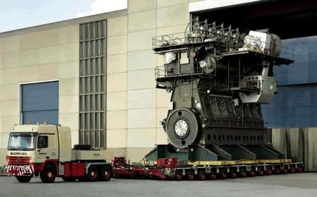 En video: El motor a diesel más grande del mundo es una colosal máquina de 107,400 hp