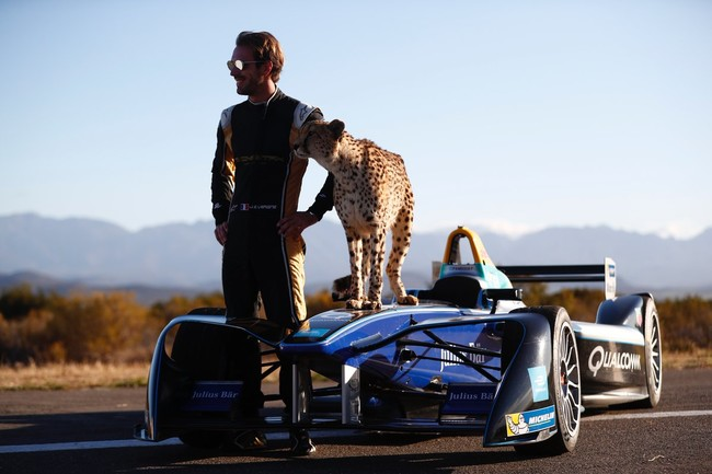 ¿Quién acelera más un Fórmula E o un guepardo? Y no es el que tú estás pensando