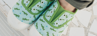 Siete zapatillas de lona geniales para niños con descuento en El Corte Inglés