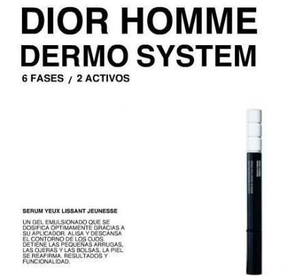 Hombre Dior: no tienes excusa para aplicarte un contorno de ojos