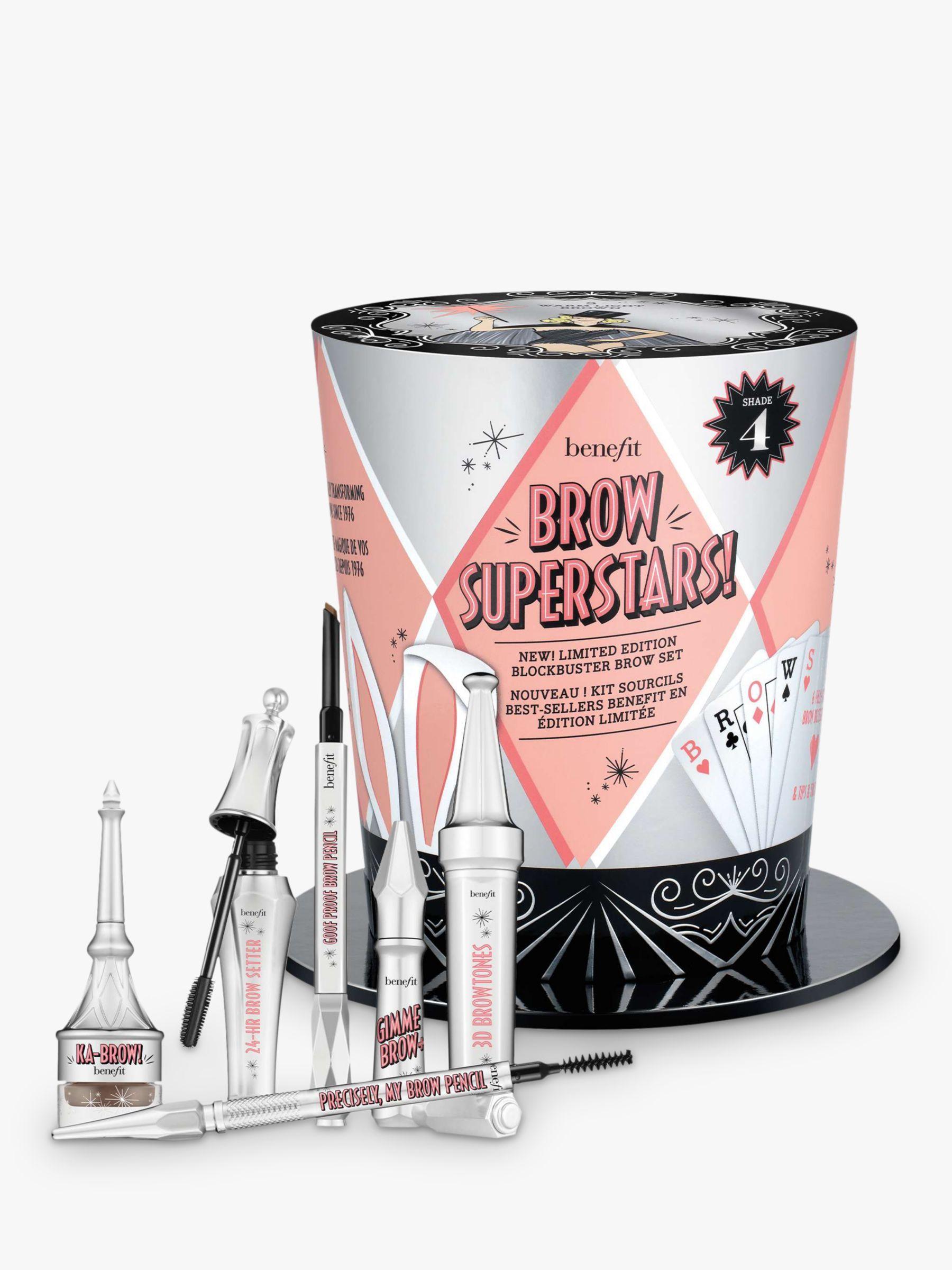 Cofre de cejas con perfiladores, rellenadores y fijadores Brow Superstars! de Benefit Cosmetics