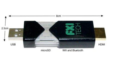 FXI Cotton Candy: una minicomputadora USB que corre Android