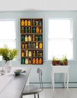 Una buena idea: reserva un lugar en tu cocina para los botes