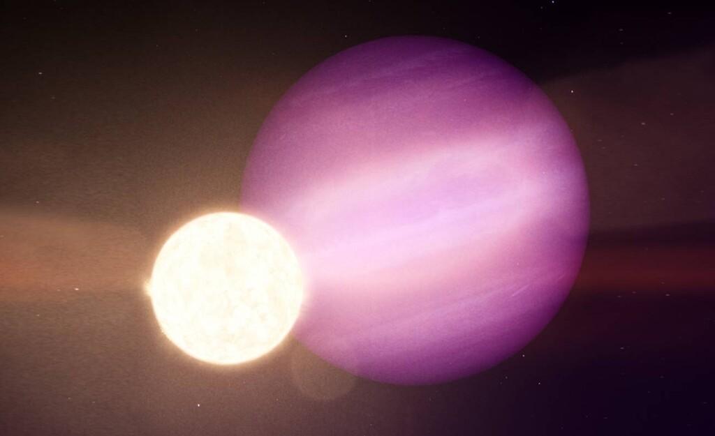 Acabamos de encontrar un planeta siete veces más grande que la estrella que orbita