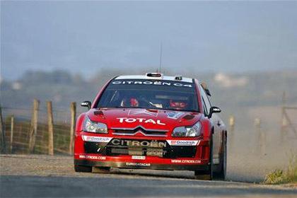 Tercer triunfo consecutivo de Loeb en Córcega